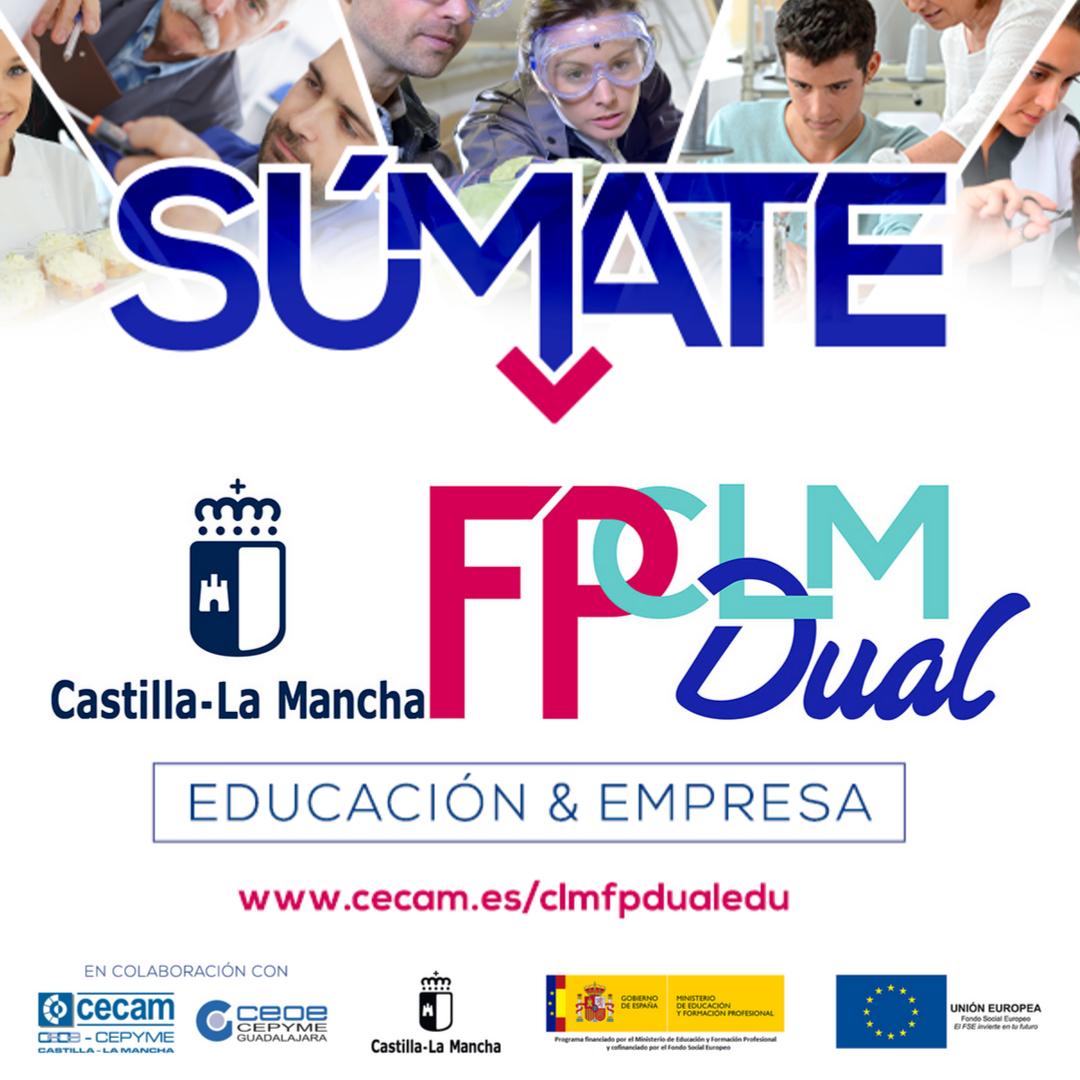 Jornada Informativa CLMFPDual en Azuqueca de Henares (Guadalajara)